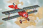 Siemens-Schuckert D.III -- Plastic Model Airplane Kit - 1/32 Scale -- #rd0610