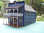 1880 Zelda's Hotel Bed & Breakfast Kit -- HO Scale Model Railroad Building -- #2022