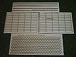 3' Stair Treads Kit -- HO Scale Model Railroad Building Accessory -- #2503