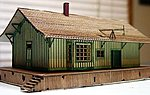 Cheltenham Station Kit -- N Scale Model Railroad Building -- #3024