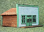 1880 Main Street Store Kit -- N Scale Model Railroad Building -- #3030