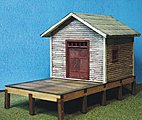 Billco Freight Kit -- N Scale Model Railroad Building -- #3040
