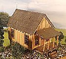 Carl's Cabin Kit -- N Scale Model Railroad Building -- #3048