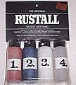 Rustall Set for Rusting Plastic, Metal, Plaster, Styrene & Paper
