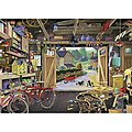 Grandpa's Garage 300pcs Large Format -- Jigsaw Puzzle 0-599 Piece -- #13578