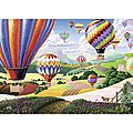 Brilliant Balloons 500pcs Large Format -- Jigsaw Puzzle 0-599 Piece -- #14871