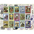 Vacation Stamps 2000pcs -- Jigsaw Puzzle Over 1000 Piece -- #16602