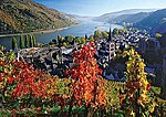 On The River Rhine 1000pcs -- Jigsaw Puzzle 600-1000 Piece -- #19236