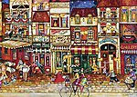 Streets Of France 1000pcs -- Jigsaw Puzzle 600-1000 Piece -- #19408