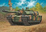 Leclerc (T.5) Tank French -- Plastic Model Military Vehicle Kit -- 1/72 Scale -- #03131