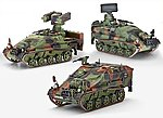 Wiesel 2 LeFlaSys (Ozelot & AFF & BF/UF) -- Plastic Model Military Vehicle -- 1/35 Scale -- #03205