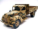 German Truck V3000S (1941) -- Plastic Model Military Vehicle Kit -- 1/35 Scale -- #03234