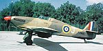 Hawker Hurricane Mk II C Aircraft -- Plastic Model Airplane Kit -- 1/72 Scale -- #04144