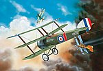 Sopwith Triplane -- Plastic Model Airplane Kit -- 1/72 Scale -- #04187