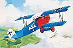 Fokker D VII -- Plastic Model Airplane Kit -- 1/72 Scale -- #04194