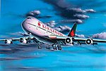 Boeing 747 -- Plastic Model Airplane Kit -- 1/390 Scale -- #04210