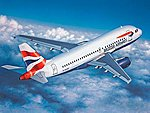 Airbus A-319 -- Plastic Model Airplane Kit -- 1/144 Scale -- #04215