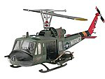 Bell UH-1C/B Huey Hog -- Plastic Model Helicopter Kit -- 1/48 Scale -- #04476