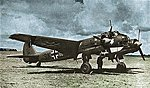 Junkers Ju88 A-4 Bomber -- Plastic Model Airplane Kit -- 1/72 Scale -- #04672