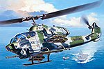 AH-1W SuperCobra -- Plastic Model Helicopter Kit -- 1/48 Scale -- #04943