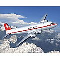 DC-4 Balair -- Plastic Model Airplane Kit -- 1/72 Scale -- #04947
