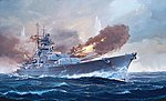 Battleship Bismarck -- Plastic Model Military Ship Kit -- 1/350 Scale -- #05040
