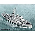 Flower Class Corvette (Early) -- Plastic Model Military Ship Kit -- 1/144 Scale -- #05132