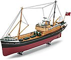 North Sea Trawler -- Plastic Model Ship Kit -- 1/142 Scale -- #05204