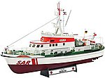 DGzRS Berlin Search and Rescue Vessel -- Plastic Model Military Ship Kit -- 1/72 Scale -- #05211
