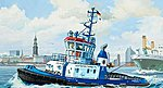 Harbour Tug Boat ''Fairplay I/III/X/XIV'' -- Plastic Model Ship Kit -- 1/144 Scale -- #05213