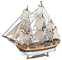 H.M.S. Bounty -- Plastic Model Sailing Ship Kit -- 1/110 Scale -- #05404