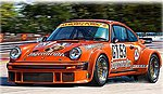 Porsche 934 RSR Jagermeister -- Plastic Model Car Kit -- 1/24 Scale -- #07031
