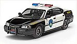 2005 Chevy Impala Police Car -- Plastic Model Car Kit -- 1/25 Scale -- #07068