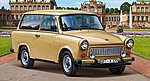 Trabant 601 Universal -- Plastic Model Car Kit -- 1/24 Scale -- #07070