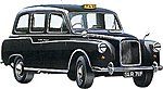 London Taxi -- Plastic Model Car Kit -- 1/24 Scale -- #07093