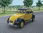 Citroen 2CV Charleston -- Plastic Model Car Kit -- 1/24 Scale -- #07095