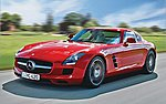 Mercedes-Benz SLS AMG -- Plastic Model Car Kit -- 1/24 Scale -- #07100