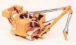 Crawler w/Side Boom Railroad Wreck Crane Kit -- Model Railroad Vehicle -- N Scale -- #2008