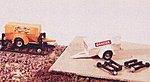 Generator/Compressor Trailer w/Hy Rail Wheels -- Model Railroad Vehicle -- N Scale -- #2009