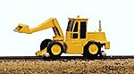 MOW Vehicles Swingmaster with Loading Bucket -- Model Railroad Vehicle -- N Scale -- #2051