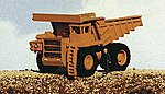 Mine Equipment 100-Ton Lectra Haul Mine Truck -- Model Railroad Vehicle Kit -- N Scale -- #2101