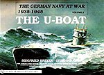 German Navy at War 1935-45 Vol.2 U-Boat -- Authentic Scale Model Boat Book -- #2186