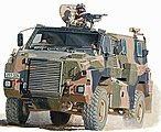Bushmaster Protected Mobility Vehicle -- Plastic Model Military Truck Kit -- 1/35 -- #35001