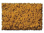 Scenic Foams & Ground Textures Coarse Autumn Gold -- Model Railroad Ground Cover -- #875b