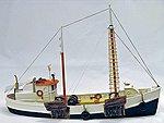 65' Fishing Dragger Kit -- HO Scale Model Vehicle -- #h118ho