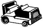 Platform Mule -- HO Scale Model Railroad Vehicle -- #147