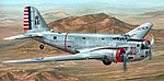 B18 Bolo Pre-War Service Bomber -- Plastic Model Airplane Kit -- 1/72 Scale -- #72095