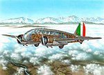 Caproni Ca311 Italian Bomber -- Plastic Model Airplane Kit -- 1/72 -- #72307