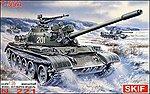 T55A Medium Tank w/Guns -- Plastic Model Tank Kit -- 1/35 Scale -- #221