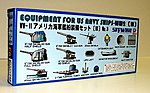 Equipment Set for US WWII Navy Ships (III) -- Plastic Model Ship Accessory -- 1/700 Scale -- #e6